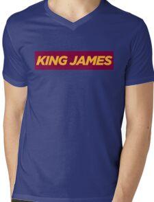 JAMES. Mens V-Neck T-Shirt