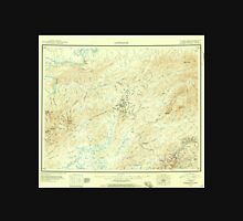 USGS TOPO Map Alaska AK Livengood 361101 1945 250000 Unisex T-Shirt