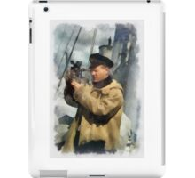 Royal Naval Officer - WWII iPad Case/Skin