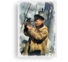 Royal Naval Officer - WWII Canvas Print