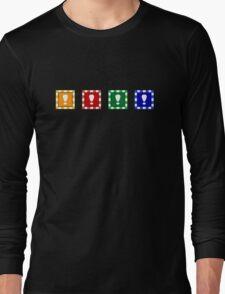 Power-up Blocks Long Sleeve T-Shirt