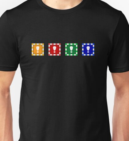 Power-up Blocks Unisex T-Shirt