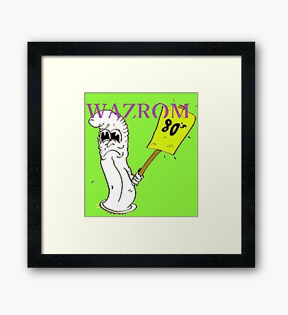 Parasitism(print only) Framed Print