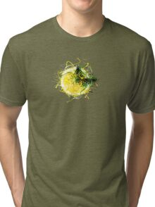 Butterfly and Lemon Tri-blend T-Shirt