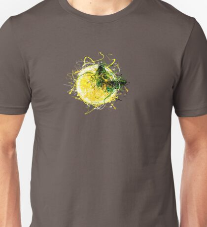 Butterfly and Lemon Unisex T-Shirt