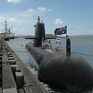 HMAS Sheean (I think) by Trevor Needham