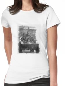 Liberation - Americans in Paris - WWII Womens Fitted T-Shirt