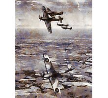 Battle of Britain - WWII Photographic Print