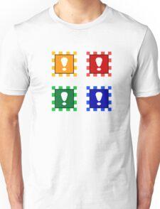 Power-up Blocks (Square version) Unisex T-Shirt