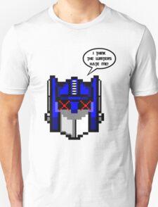 Optimus Prime Pixel T-Shirt