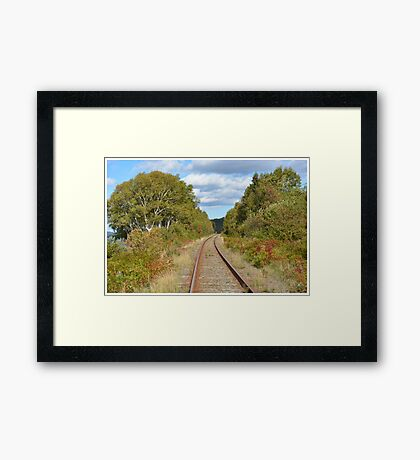 Untouched Autumn Framed Print