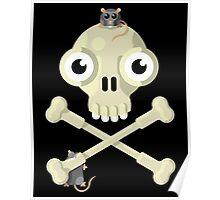 Skull & Rats Poster
