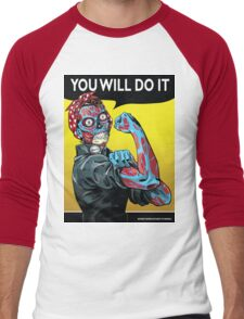 You Will Do It Men's Baseball ¾ T-Shirt