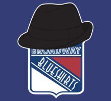 Broadway Blue Shirts T-Shirt