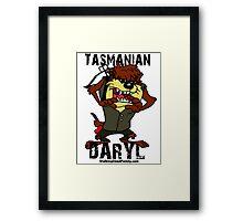 Tasmanian Daryl Dixon Framed Print