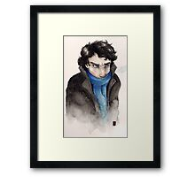 Cold Sherlock Framed Print