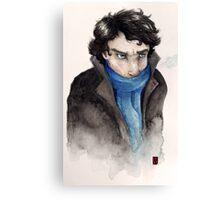 Cold Sherlock Canvas Print