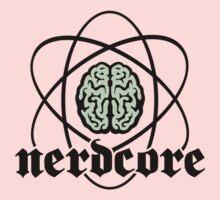 Nerdcore - Atomic Nucleus Brain One Piece - Long Sleeve