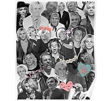 Ross Lynch Tumblr collage Poster