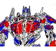 Optimus prime (Transformers movie) Photographic Print