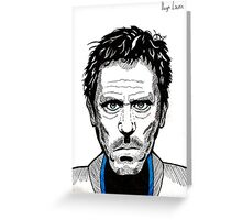 Hugh Laurie Greeting Card