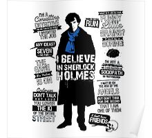 Detective Quote Poster