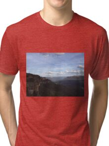 Blue Mountains - Seeing my 3 Sisters Tri-blend T-Shirt
