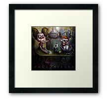 Dexters Meth Lab Framed Print
