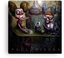 Dexters Meth Lab Canvas Print