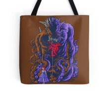 Demon and Child Tote Bag