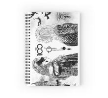The 100 - Lexa & Clarke Spiral Notebook