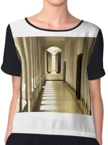 Corridor In The Old Building Chiffon Top