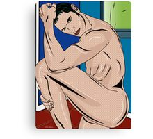 man world 2 Canvas Print