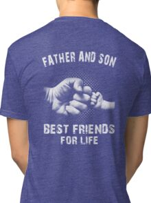 Father And Son - Father's Day Tri-blend T-Shirt