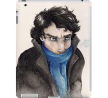 Cold Sherlock iPad Case/Skin