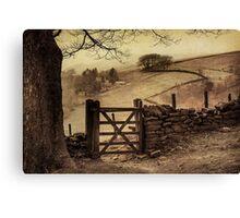 Beautiful England Canvas Print