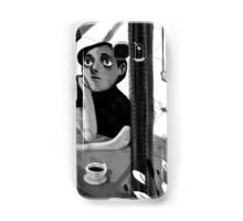 a black and white summer Samsung Galaxy Case/Skin