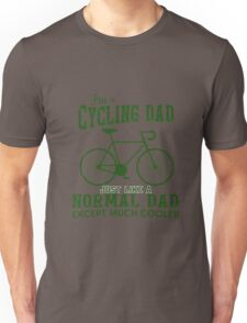 I'm a Cycling Dad - Father Day Unisex T-Shirt