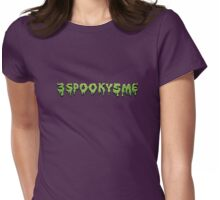 Spoopy Womens Fitted T-Shirt