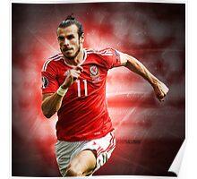 Gareth Bale - Wales Poster