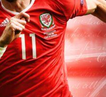 Gareth Bale - Wales Sticker