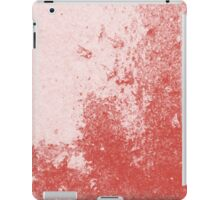 Earth Sweat Design (Aurora Red Color) iPad Case/Skin