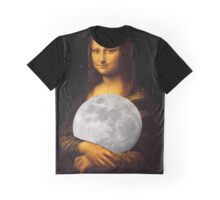 Moona Lisa Graphic T-Shirt