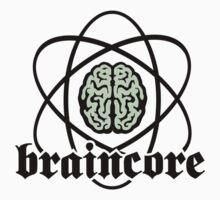 Braincore - Atomic Nucleus Brain Kids Tee