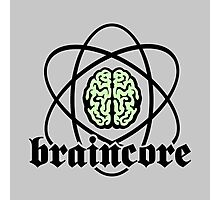 Braincore - Atomic Nucleus Brain Photographic Print