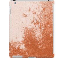 Earth Sweat Design (Potter's Clay Color) iPad Case/Skin
