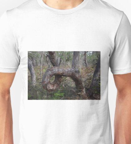 Stringy Bark circle Unisex T-Shirt