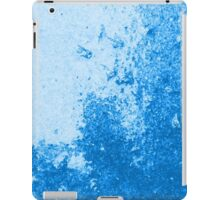 Earth Sweat Design (Snorkel Blue Color) iPad Case/Skin