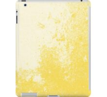 Earth Sweat Design (Buttercup Color) iPad Case/Skin