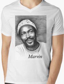 Marvin Gaye Mens V-Neck T-Shirt